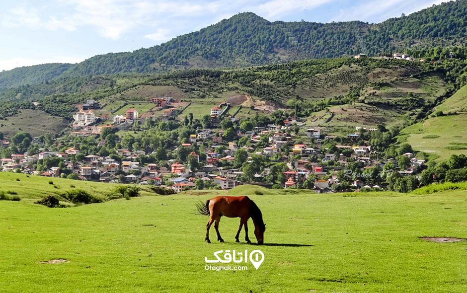 مکان های گردشگری و جاذبه های توریستی و تفریحی شهر ماسال