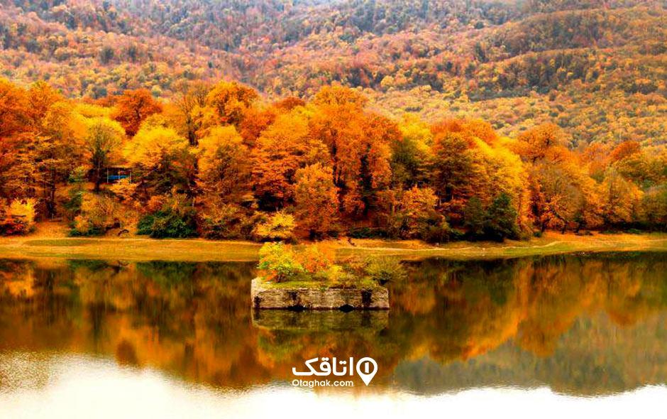 مکان های گردشگری و جاذبه های توریستی و تفریحی عباس آباد