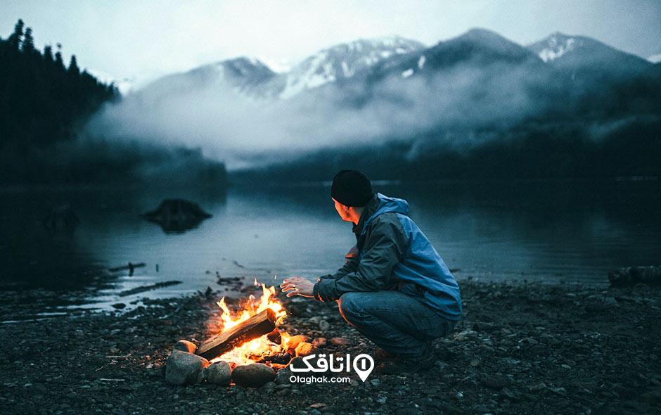 چگونه در طبیعت آتش روشن کنیم