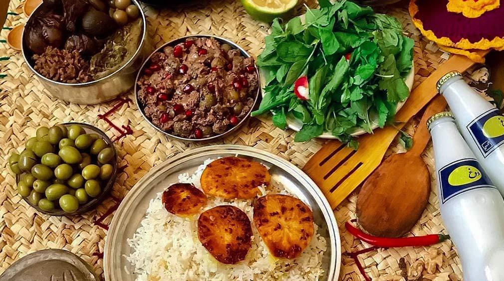 غذاهای مازندران