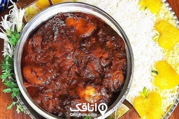 غذاهای زنجان