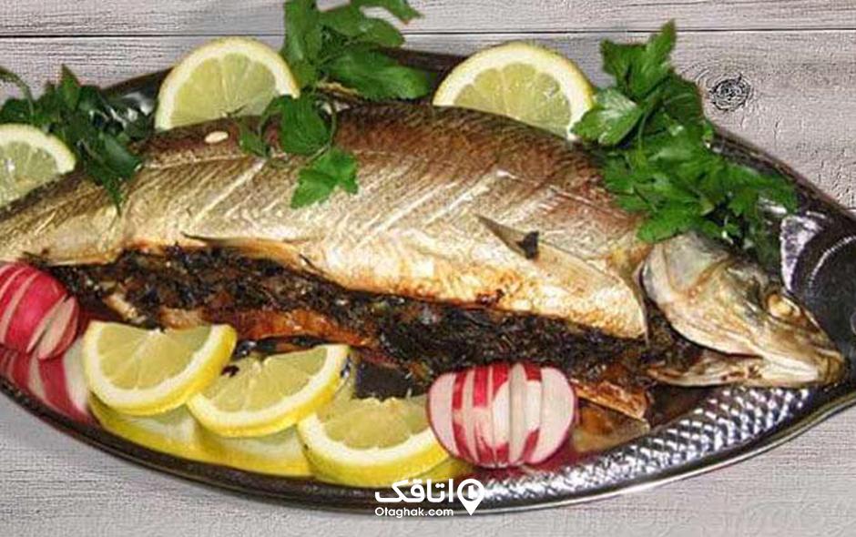 مالابیج غذای محلی رامسر
