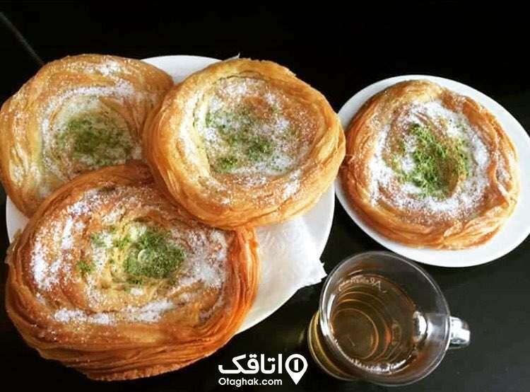 نان محلی مازندران