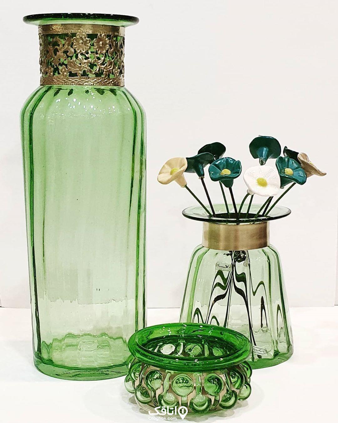 هنر شیشهگری از صنایع دستی کردان