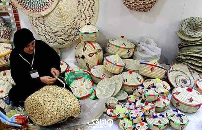 حصیربافی، صنایع دستی کیش