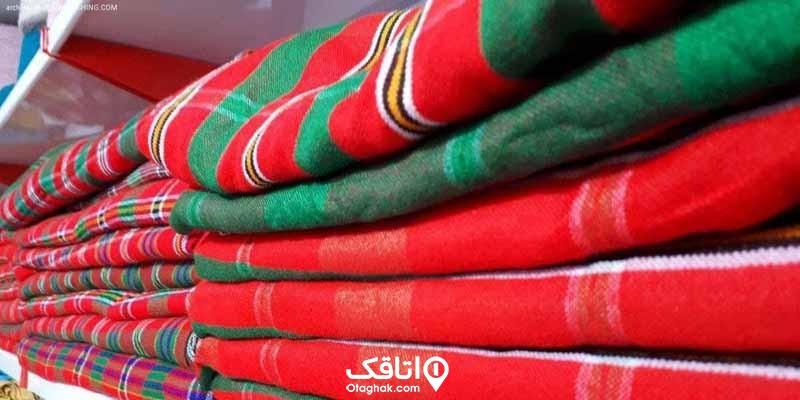 چادر شب، صنایع دستی کیش