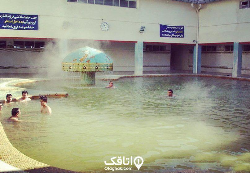 چشمه آب گرم سرعین