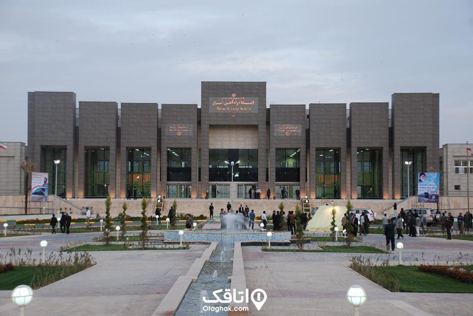 سفر ریلی به شیراز