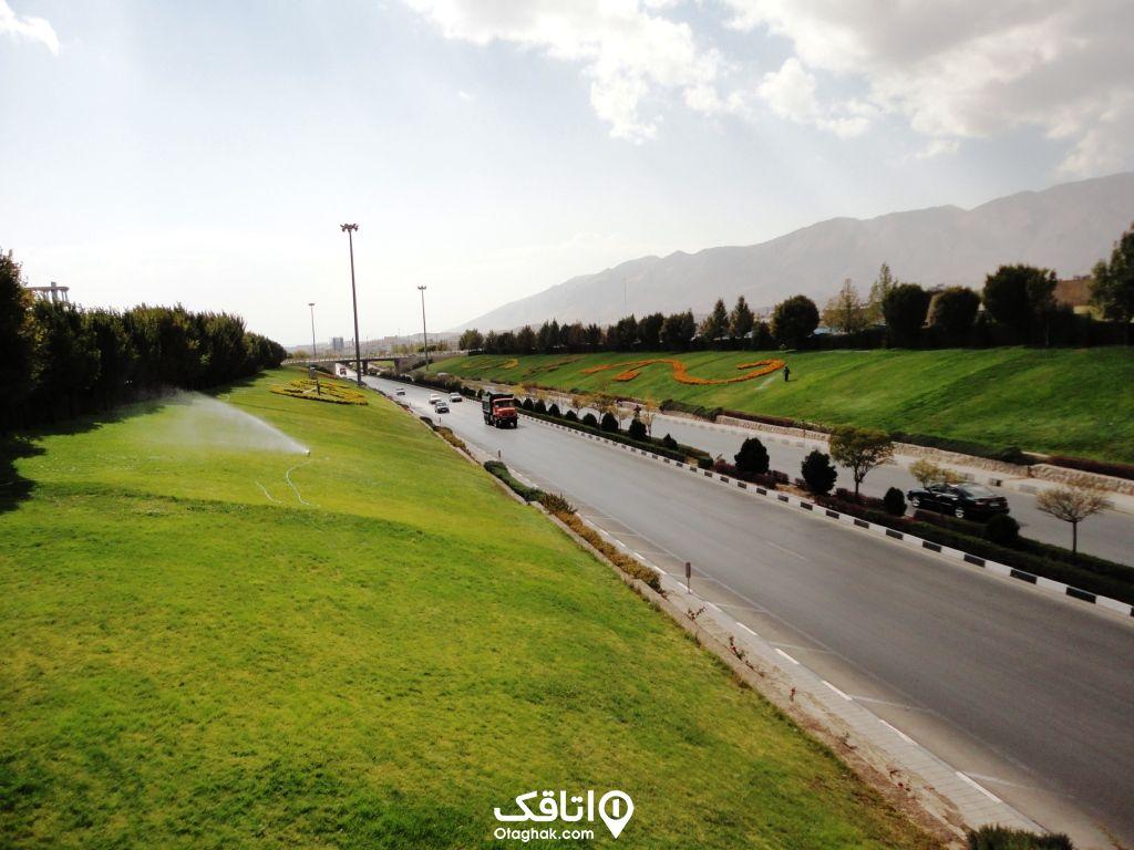 سفر جادهای به شیراز