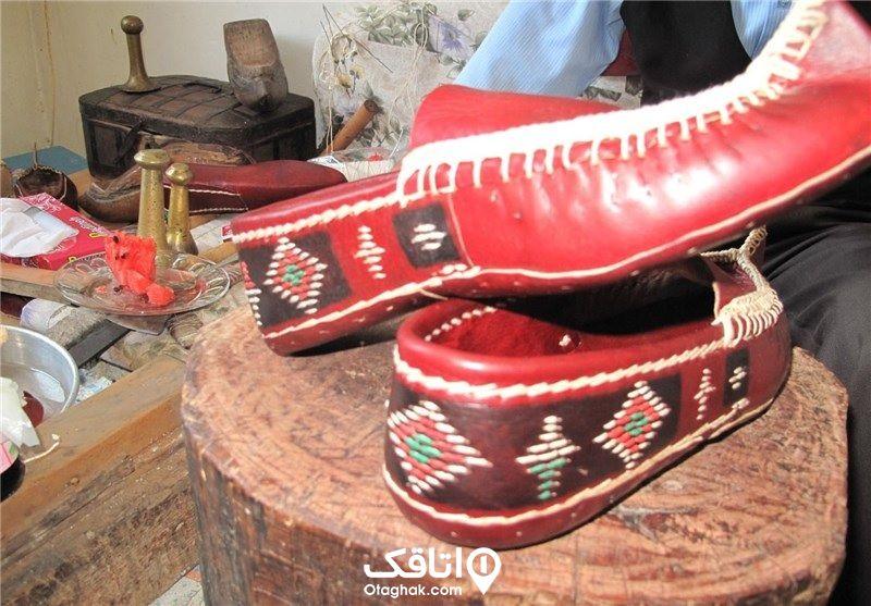 کفش محلی رستم آباد