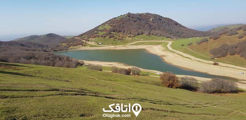 دریاچه سوها نمین