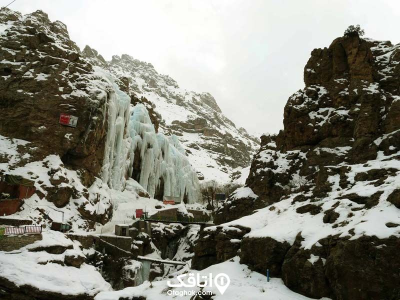 آبشار یخی میگون