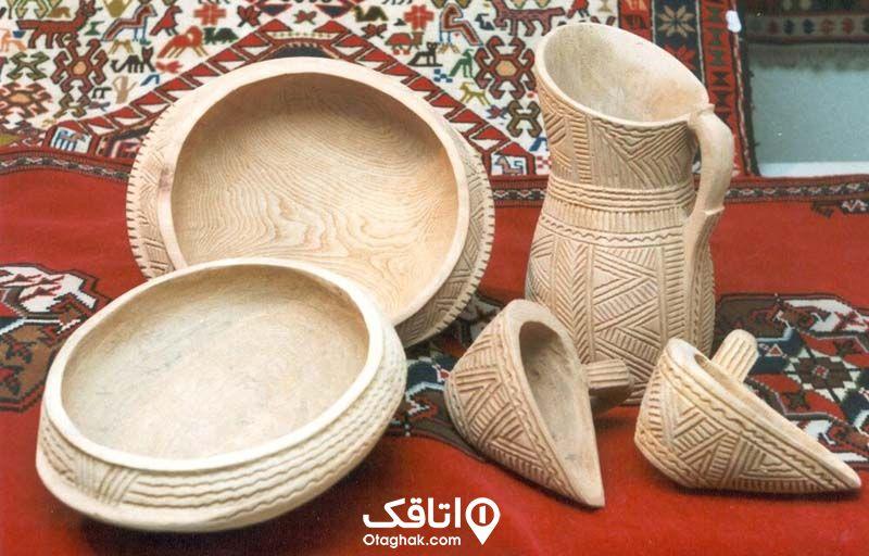 ظروف چوبی ماسال